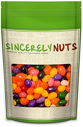 Sincerely Nuts Assorted Jelly Beans- 5 Lb. Bag- Delicious Candy Bean Flavors- Premium Freshness (Color Jelly Beans)