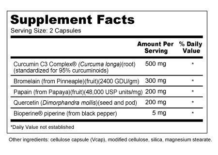 Amazon.com: Reparación Plus con Curcumina C3 Complejo, 100 ...