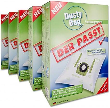 Oferta de lanzamiento! DUSTY BAG - gracias a su nuevo universal con conexión patent bolsas en tarros 20 Pack bolsa marca de calidad alemana: Amazon.es: Hogar