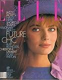 Elle Magazine, April 1987 (Vol. II, No 8)