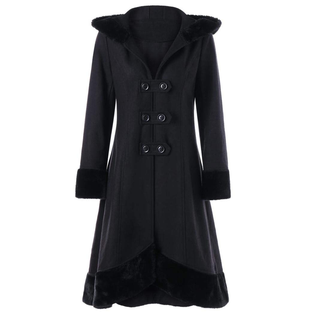 Pandaie Jacket,Women Warm Slim Coat Jacket Thick Parka Overcoat Long Winter Outwear L