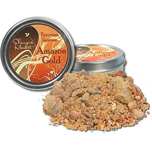 Amazon Gold: Peruvian Resin Incense - 1 oz