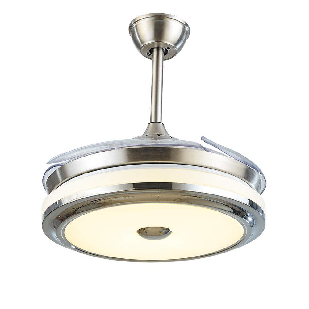 Amazon.com: LUOLAX - Moderno ventilador de techo con luces ...
