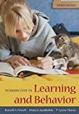 Introduction to Learning and Behavior 3rd Edition