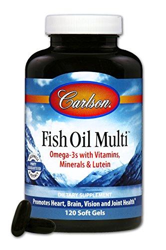 Carlson Multi Vitamins Minerals Softgels