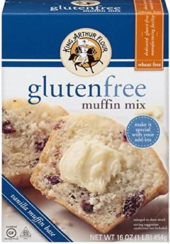 Baking Mixes: King Arthur Gluten Free Muffin Mix