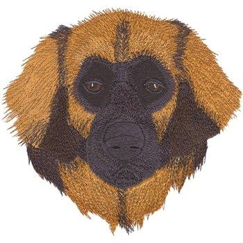 "Hundesportweste d.blau incl. hochwertigem Rückenstick ""Leonberger"" DG0715"