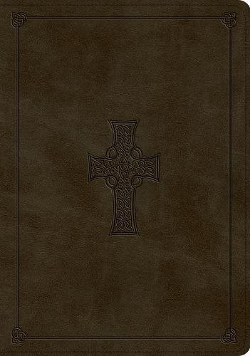 ESV Study Bible (TruTone, Olive, Celtic Cross Design) (Celtic Cross Bible Esv)