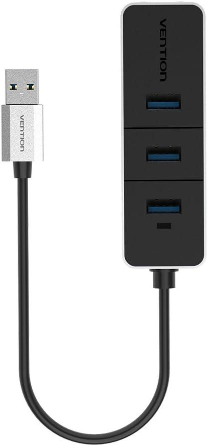 Vention USB 3.0 A 10/100 Mbps LAN tarjeta de adaptador de red Ethernet + 3 Puerto USB HUB para Mac OS Tablet PC portátil Smart TV: Amazon.es: Electrónica