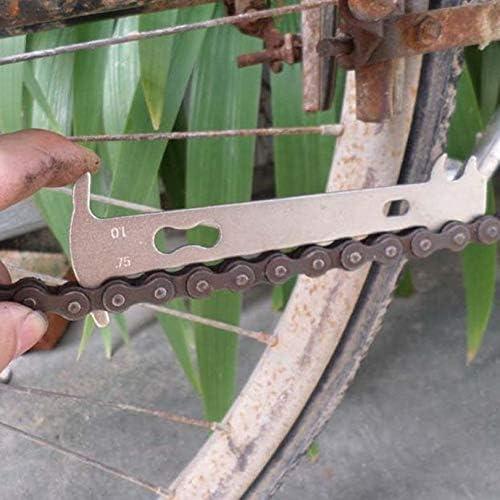 Bicicleta Bicicleta Comprobador de Cadena Indicador de Desgaste ...