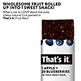 That's it. Apple + Blueberry 100% Natural Real