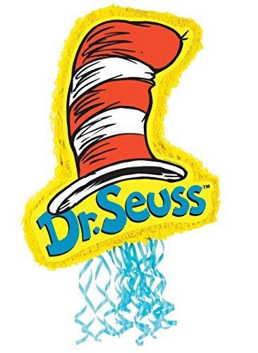 BirthdayExpress Dr Seuss Party Supplies - Pull-String Pinata -