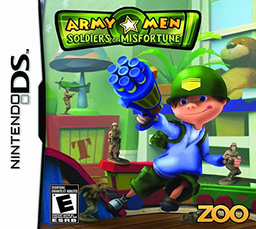 Army Men Soldiers of Misfortune - Nintendo DS from Zoo Games