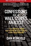 img - for Confessions of a Wall Street Analyst: A True Story of Inside Information and Corruption in the Stock Market book / textbook / text book