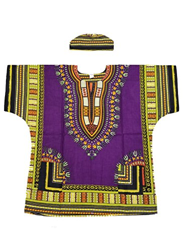 Traditional African Dashiki Shirt Matching product image