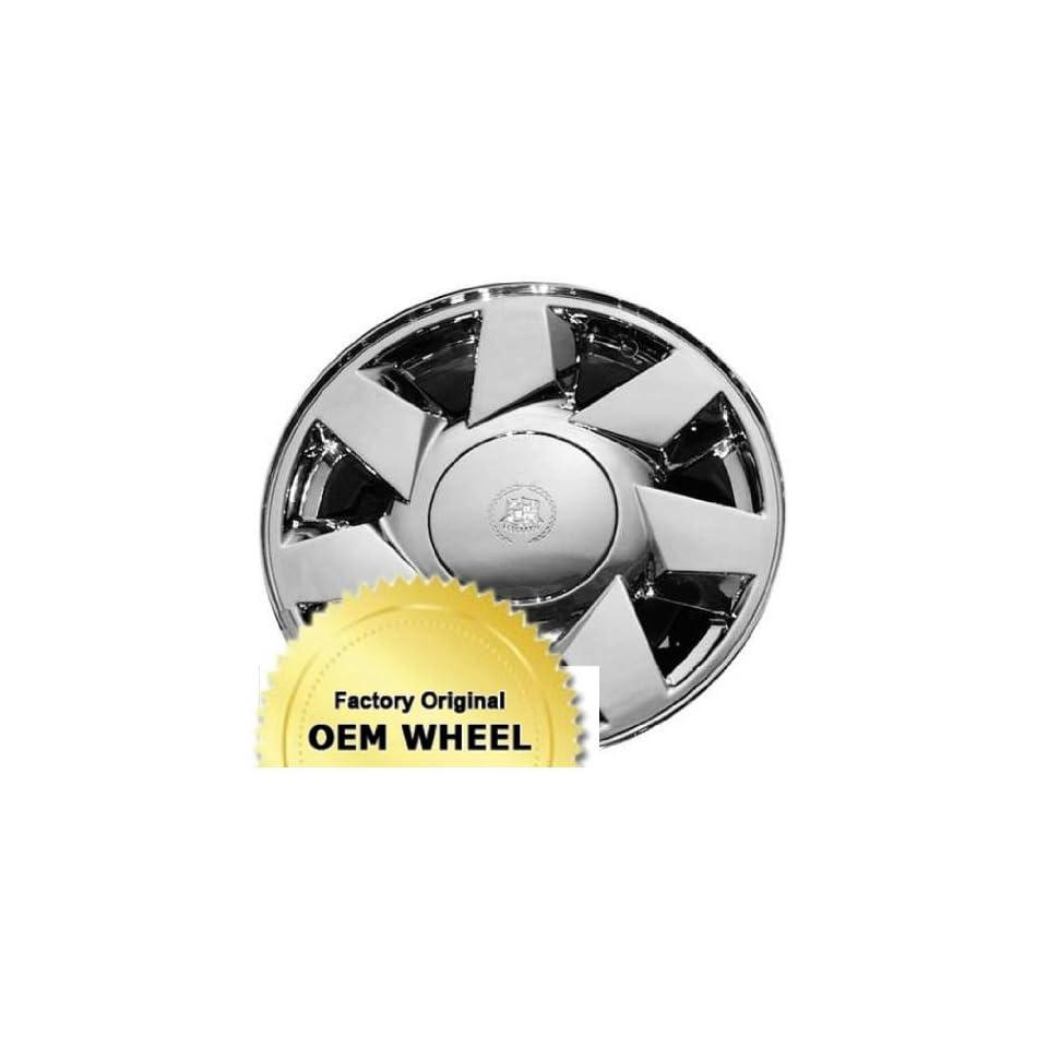 CADILLAC DEVILLE,DTS 17x7.5 7 SPOKE Factory Oem Wheel Rim  CHROME   Remanufactured