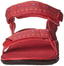 Teva Hurricane 3 Sandal (Toddler/Little Kid/Big Kid), Hippie Paradise Pink, 8 M US Toddler