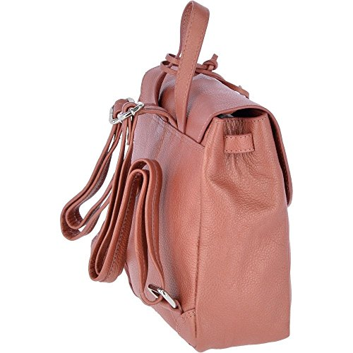 Ashwood main pour Orange Sac au Leather porté Orange à dos femme qrOwqvA