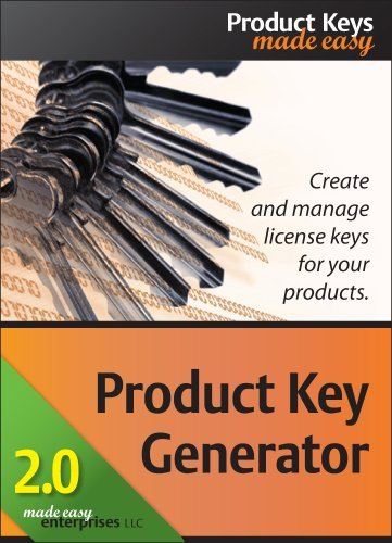Product Key Generator 2.0 [Download] by Made Easy Enterprises LLC