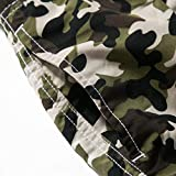 NUWFOR Men's Casual Camouflage Printing Beach