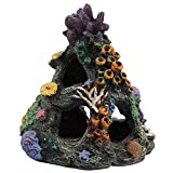 Make your aquarium looks vividly,add to natural color and a beautiful scenery with this great barrier reef sea coral environments aquarium ornament for your medium fish tank now!just needs cool water to clean it, leave it dry and then put it back int...
