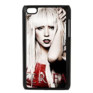 C-EUR Customized Phone Case Of Lady Gaga For Ipod Touch 4