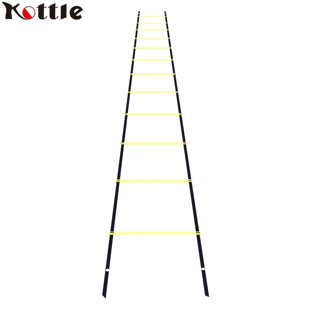 Kottle 6M 12-Rung sport agilità scala velocità per velocità, piedi Fitness calcio formazione