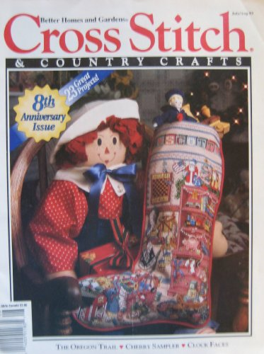 Cross Stitch & Country Crafts, July/Aug 1993 (Volume VIII, Number 6)