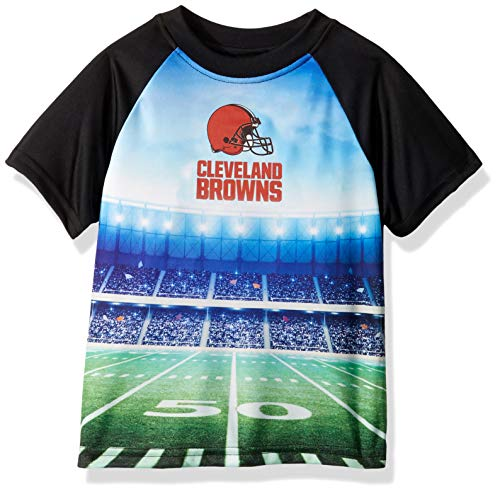 NFL Cleveland Browns Unisex Short-Sleeve Tee, Black, 4T Cleveland Browns Youth Short