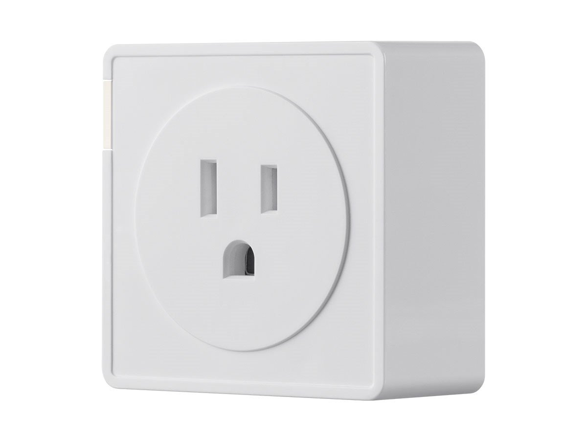 Monoprice Wireless Smart Plug with Energy Monitoring & Reporting - White | No Hub Required, Works With Amazon Alexa and Google Assistant - STITCH Collection