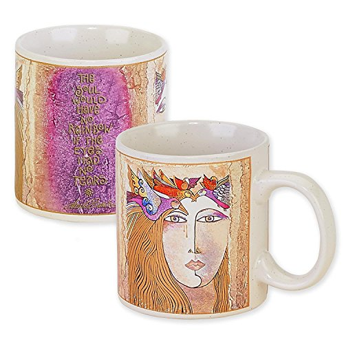 Laurel Burch Artistic Collection 14-ounce Mug, Soul Tears