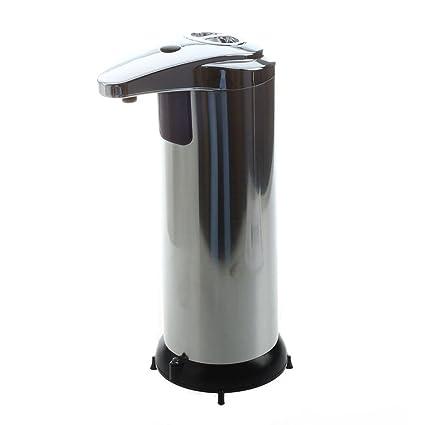 TOOGOO (R) mano automática de acero inoxidable LIBERANO el dispensador de jabón del sensor