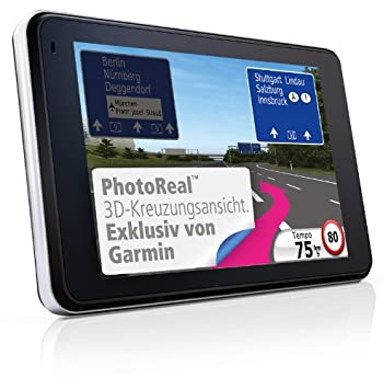 Garmin Nuvi T Gps   Touchscreen Voice Activation Europe Maps Bluetooth Nuroute European