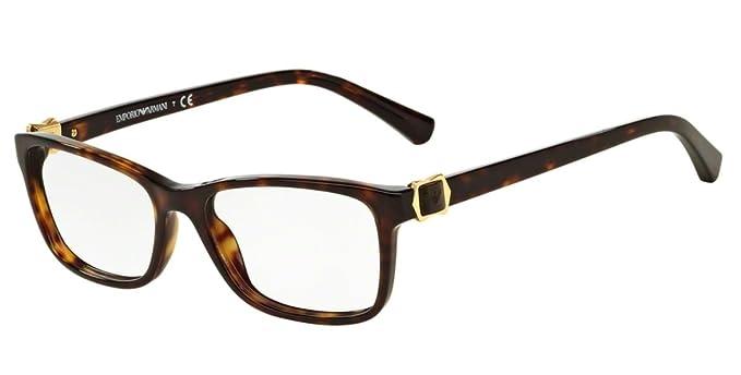 4fd5ea5645f Emporio Armani Women s 3076 Tortoise Frame Plastic Eyeglasses