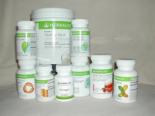 Ultimate French Vanilla Kit (Herbalife Formula 1 Nutritional Shake Mix Benefits)
