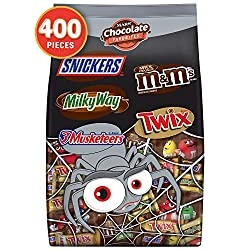 Halloween is synonymous with parties and trick or treating, and Mars Chocolate has special ways to celebrate Halloween with your favorite Chocolate Brands in spooky seasonal packaging. These mixed individually wrapped items make for festive party fav...