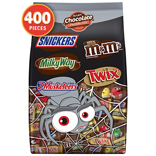 Chocolate Halloween Candy Variety Count
