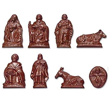 Molde para Chocolate de policarbonato figuras del belén