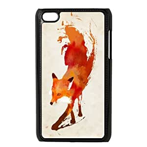JenneySt Phone CaseFunny Fox FOR IPod Touch 4th -CASE-19