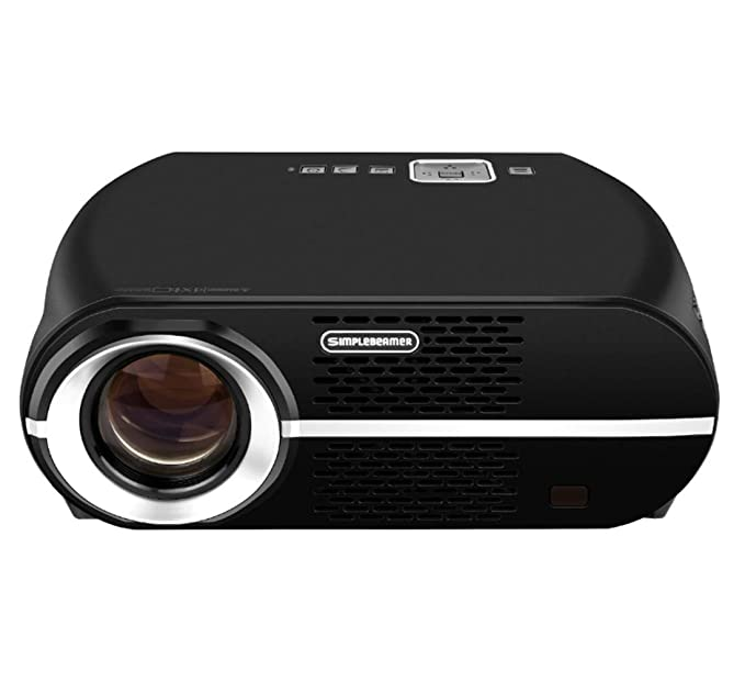 Yanyuwen GP100 Inicio Proyector HD Smart Business Oficina ...