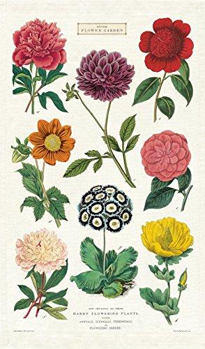 Cavallini Papers Botanica Tea Towel, Multicolor