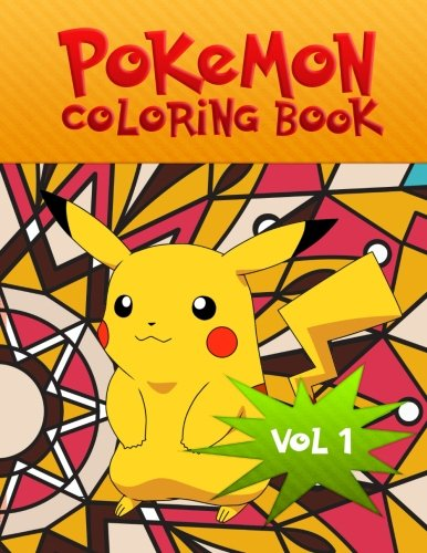 Pokemon Coloring Book: We have captured 53 catchable creatures from Pokemon for adults and children (Volume 1) Photo