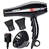 Warmlife 2000W Hair Dryer Professional Salon Powerful Ionic Hair...