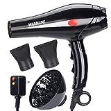 Warmlife 2000W Hair Dryer Professional Salon Powerful Ionic Hair...