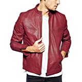 Gordania Bomber Series Men's Slim Fit Zipper Design Jacket