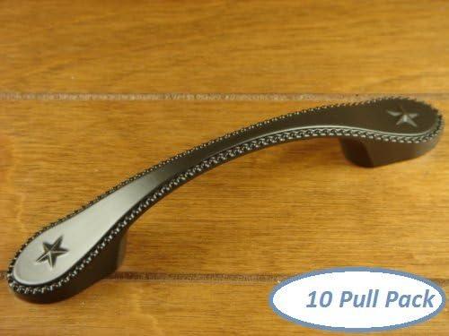 Satin Carpe Diem Hardware 415-11 Vortice 4-Inch Center Pull