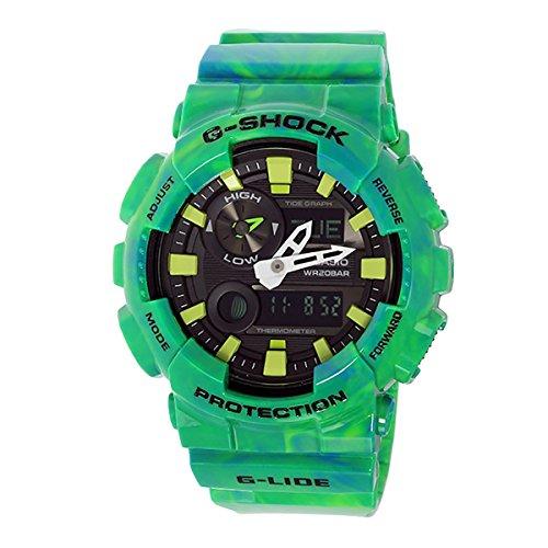 Casio G-Shock NEW! GAX-100MB-3A G-Lide Green Watch