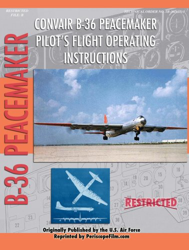 Download B-36 Peacemaker Pilot's Flight Operating Instructions pdf