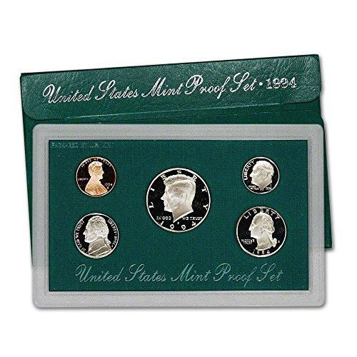 Dollar Mint Set - 1994 S US Proof Set Superb Gem Uncirculated
