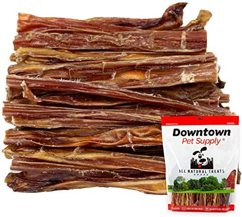 Downtown Pet Supply 6 Inch Junior Bully Sticks for Dogs – Natural Thin Dog Dental Chew Treats, High in Protein, Alternative to Rawhides (6 Inch, 8 OZ)